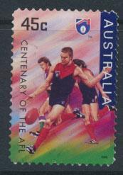 Australia SG 1614  Used  Self Adhesive - Australian Rules