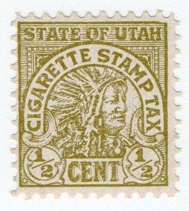 (I.B) US Revenue : Cigarette Tax ½c (Utah)