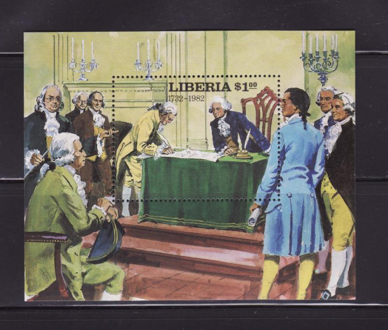 Liberia 932 MNH President George Washington (A)