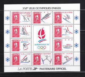 France B639 Set MNH Sports, Olympics