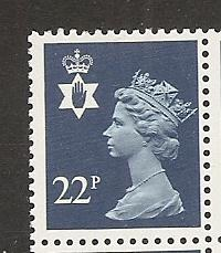 Great Britain Northern Ireland NIMH40 22p Machin MNH