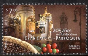 MEXICO 2837, CAFE DE LA PARROQUIA, VERACRUZ, 205th ANNIV.. MINT, NH. F-VF.