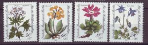 J20762 Jlstamps 1983 berlin germany set mnh #9nb204-7 flowers