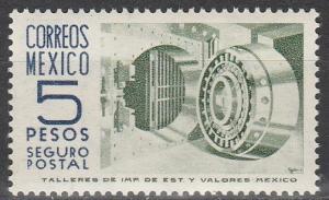 Mexico #G18 MNH  (S3240)