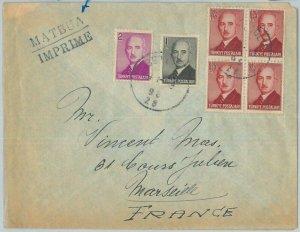 75527 - TURKEY Türkei  - POSTAL HISTORY -  COVER to FRANCE 1940's