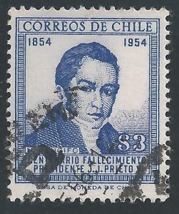 Chile #290 3p Manuel Rengifo