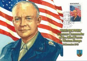 [96910] Montserrat 1998 World War II Eisenhower First Day Card