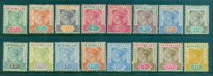 Seychelles #1-16 Part Set  Mint  Scott $221.00