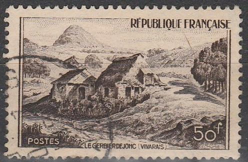 France #632  F-VF Used  (S1254)