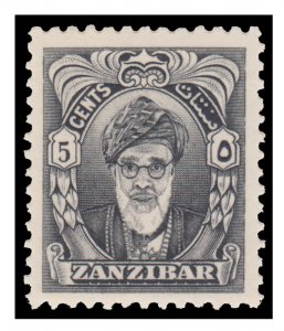 ZANZIBAR STAMP. YEAR 1952. SCOTT # 230. UNUSED