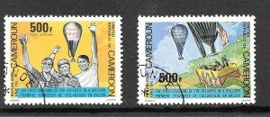 Cameroon  (1979)  - Scott # C285 - C286,