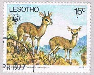 Lesotho 231 Used Klipspringers 1977 (BP4455)