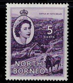North Borneo 265 MNH VF Bright