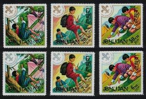 Bhutan Scouts 6v MI#480-485
