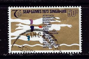Singapore 187 Used 1973 issue