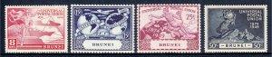 Brunei - Scott #79-82 - MNH - SCV $7.75