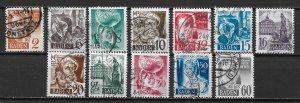 Germany 5N14-25 1948 short set Used (z2)