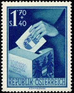 Austria #B269-B271, Complete Set(3), Never Hinged