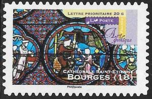 France 4000 Used - Gothic Houses of Worship - St. Etienne Cathedral, Bourges