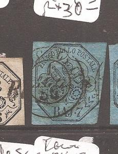 Italy Roman States SC 8 CDS VFU (7dbk) copy 1