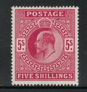 Great Britain #140 Very Fine Mint Lightly Hinged