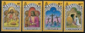 Anguilla #811-4* NH  CV $9.25  Easter