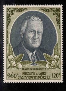 LAOS Scott C68 MNH** FDR stamp