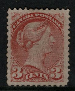 Canada #37b Very Fine Mint Unused (No Gum) - Light Surface Crease **With Cert.**