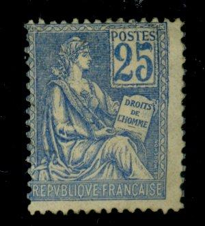 France #119 MINT Ave-Fine Part OG HR Cat$125