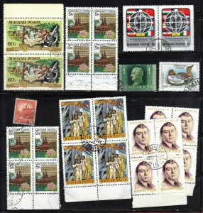 HUNGARY STAMPS LOT# B10A+B10B  SEE SCAN