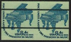 US #1615Cf IMPERF PAIR, VF/XF mint never hinged, a wonderful imperf pair,  Im...