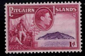 Pitcairn Islands Scott 2 MH* 1940 stamp