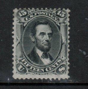 USA #77 Mint Fine Original Gum Hinged Tiny Gum Thin **With Certificate**