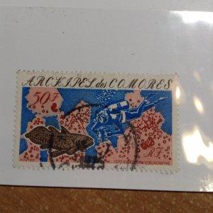 Comoro Islands  # 130  Used