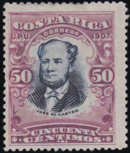 Costa Rica 1907 SC 66a Mint