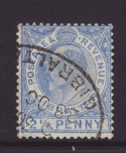 1907 Gibraltar 2½d Fine Used SG69