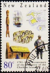 New Zealand. 1991 80c S.G.1586 Fine Used