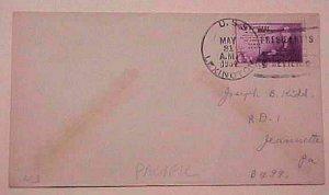 HAWAII  SS LEXINGTON 1934 MAY 31 PRESIDENT REVIEW