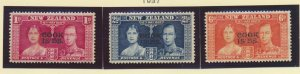 Cook Islands Stamps Scott #109 To 111, Mint Hinged - Free U.S. Shipping, Free...