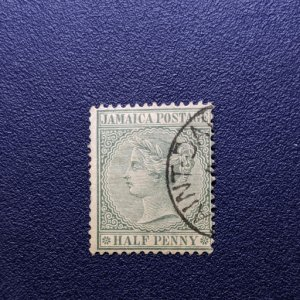 Jamaica 16 F-VF, CV $1.75