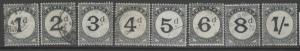 TRINIDAD SGD10/7 1905 POSTAGE DUES FINE USED