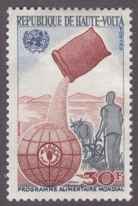 Burkina Faso 192 UNFAO World Food Program 1969