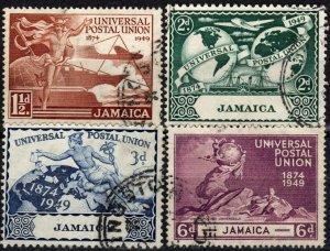 Jamaica #142-5   F-VF Used  (X1326)