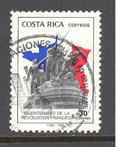 Costa Rica Sc # 416 used (DT)