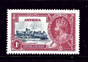Antigua 77-80 MNH 1935 KGV Silver Jubilee