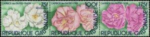 Gabon 1982 Sc 515 Flowers CV $4.50