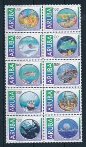 [AR635] Aruba 2012 Marine Life - Diving MNH