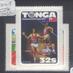 Tonga SC 624-5 MNH (6dsw)