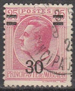 Monaco #93 F-VF Used (K1016)