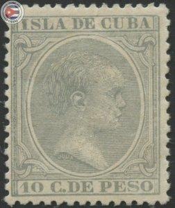 Cuba 1896 Scott 149 | MHR | CU18136